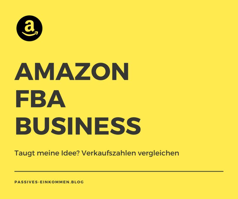 verkaufszahlen amazon fba