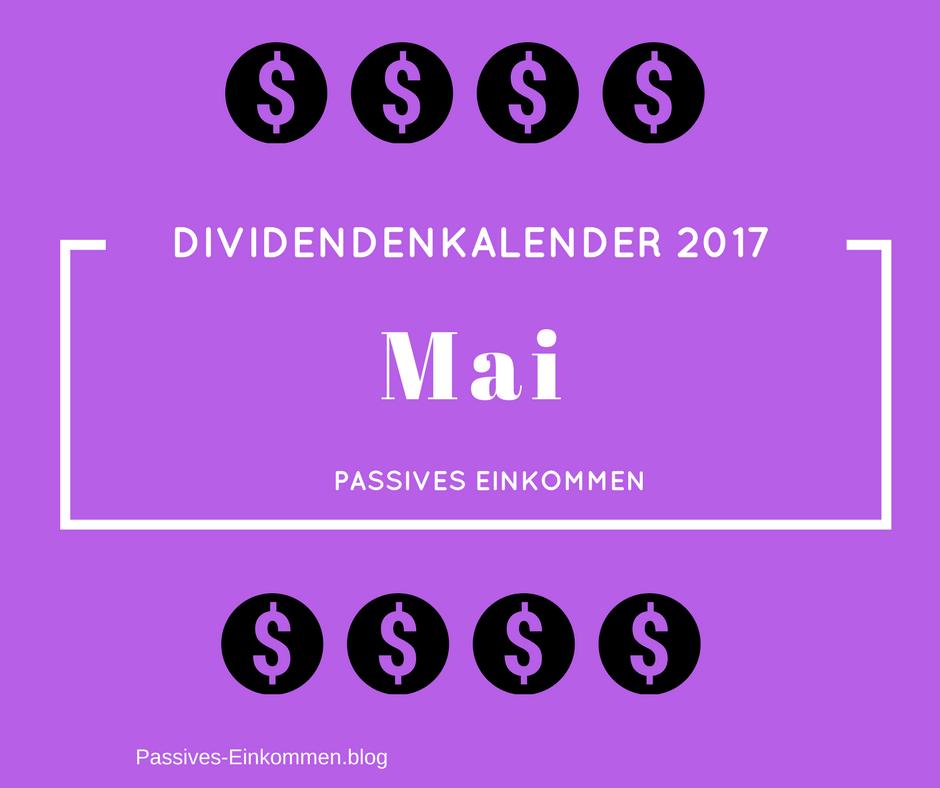 dividendenkalender mai