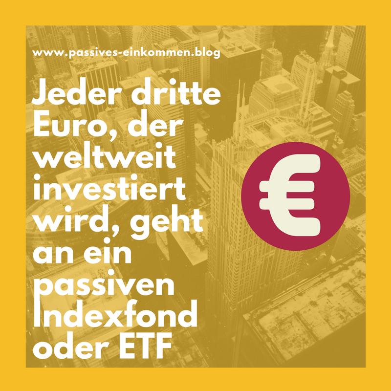 Statistik ETF Indexfonds
