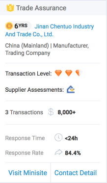 Alibaba Trade Assurance Example 2
