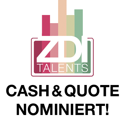 ZDI Talents Cash & Quote Nominieung